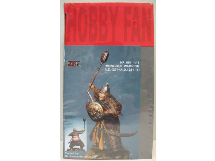 Hobby Fan 1/16 Mongols Warrior A.D.1274 - A.D.1281 (1) 601
