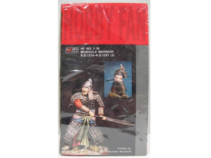 Hobby Fan 1/16 Mongols Warrior A.D.1274 - A.D.1281 (2) 602