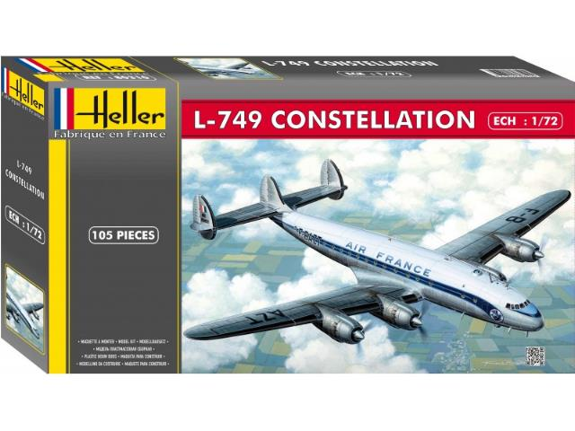 Heller 1/72 80310 L-749 CONSTELLATION Air France
