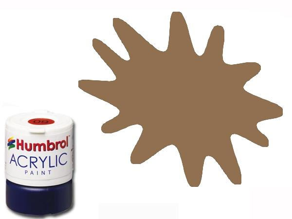 Humbrol 12ml AC110 Acrylic Paint - 110 Matt Natural Wood