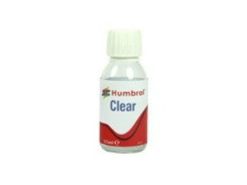 Humbrol 125ml C7431 Gloss Clear 125ml Bottle