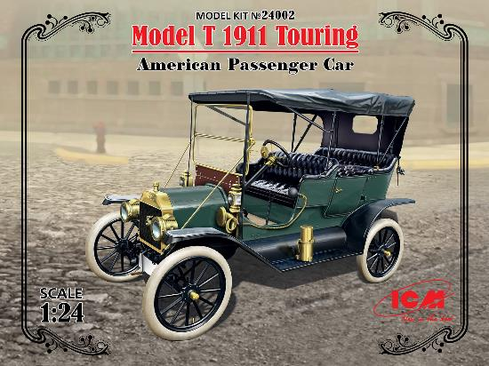 ICM 1/24 24002 Model T 1911 Touring - American Passenger Car