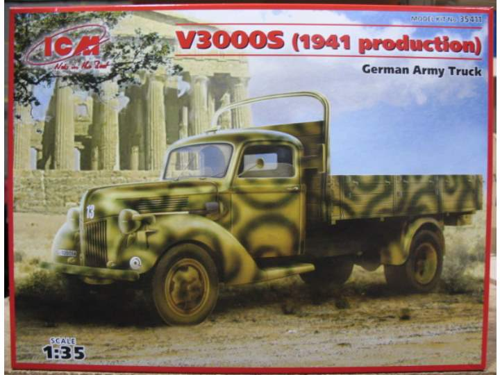 ICM 1/35 35411 - V3000S German Army Truck