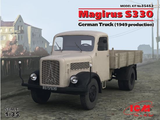 ICM 1/35 35452 Magirus S330 German Truck (1949 production)