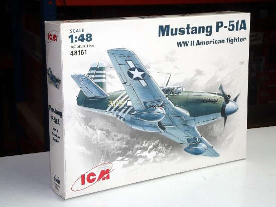 ICM 1/48 48161 - P-51A Mustang USAF