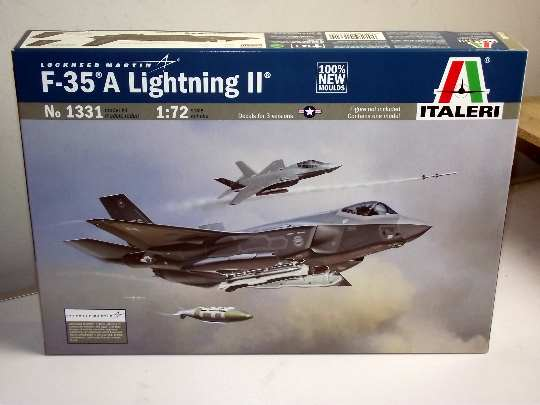 Italeri 1/72 1331 F-35A Lighting ll