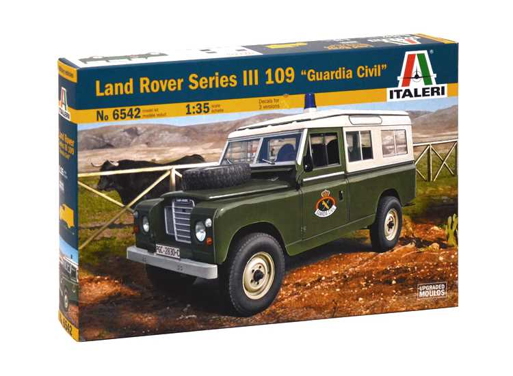 "Italeri 1/35 6542 Land Rover Series III 109 ""Guardia Civil"""