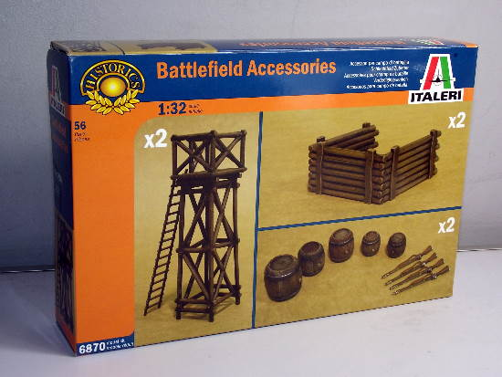 Italeri 1/32 6870 Napoleonic Battlefield Accessories