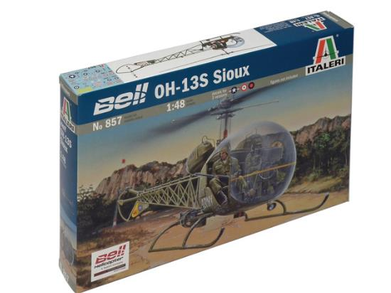 Italeri 1/48 857 Bell Oh-13S Sioux