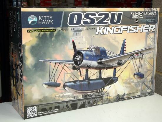 Kitty Hawk 1/32 32016 Vought OS2U Kingfisher