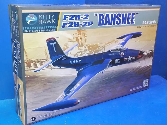 Kitty Hawk 1/48 80131 F2H-2/F2H2-P Banshee