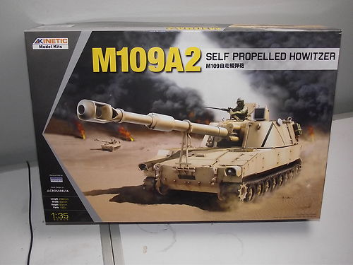 Kinetic 1/35 61006 M109A2 Self Propelled Howitzer