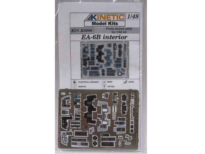 Kinetic 1/48 K5006 EA-6B Interior Photo Etch