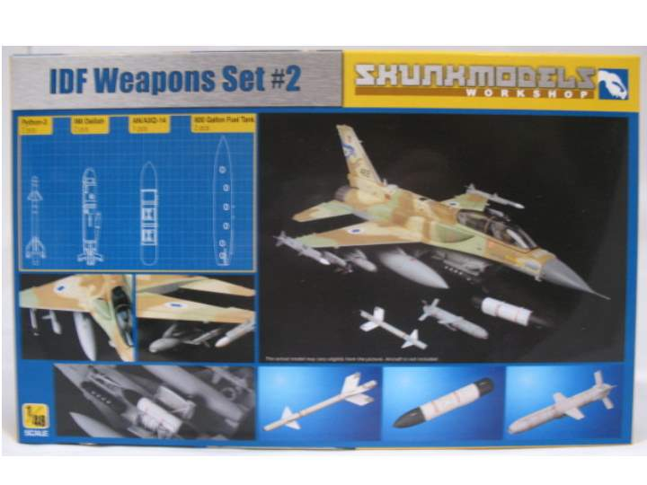 Kinetic - IDF Weapon Set  No2 1/48 SW48002