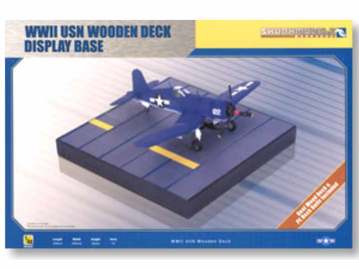 Kinetic 1/48 SW48015 WWII USN Wooden Deck Display Base