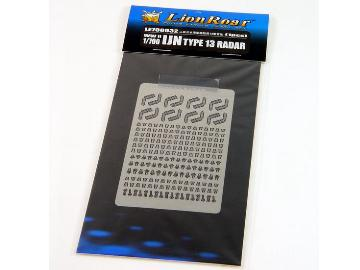 Lion Roar 1/700 LE700032 Photoetch WWII IJN Type 13 Radar