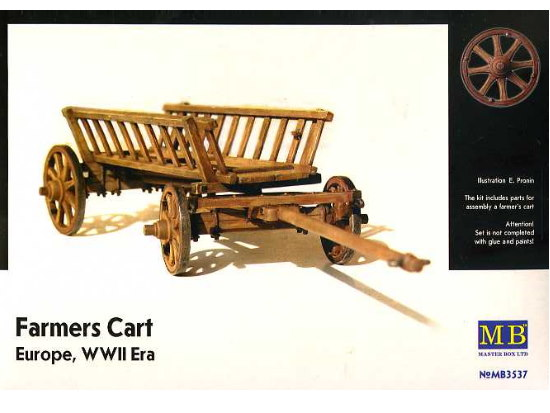 Master Box 1/35 3537 Farmers Cart Europe WWII