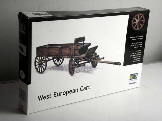 Master Box 1/35 3562 WWII Farmer's Cart, Western Europe