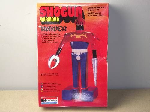 "Monogram - Shogun Warriors - Raider Scale 9"" Date: 1978"