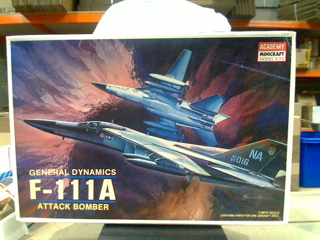 Academy F-111A Scale 1/48 Date: 00'S