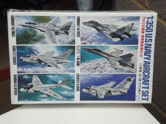 Tamiya 1/350 US Navy Aircraft Set 1 Date: 00's 78006