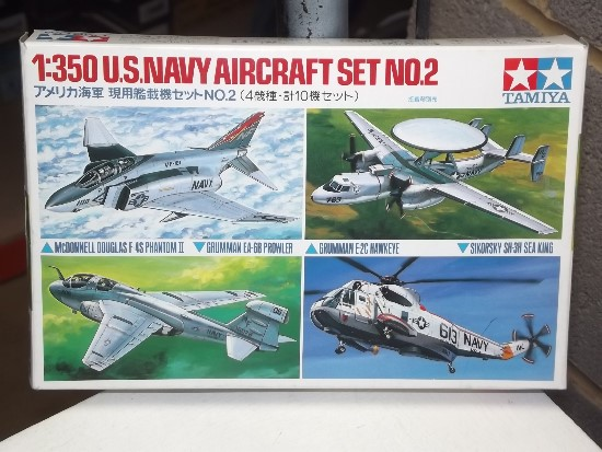Tamiya 1/350 US Navy Aircraft Set 2 Date: 00's 78009