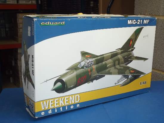 Eduard 1/48 84125 Mig-21MF - Weekend Edition Date: 00's