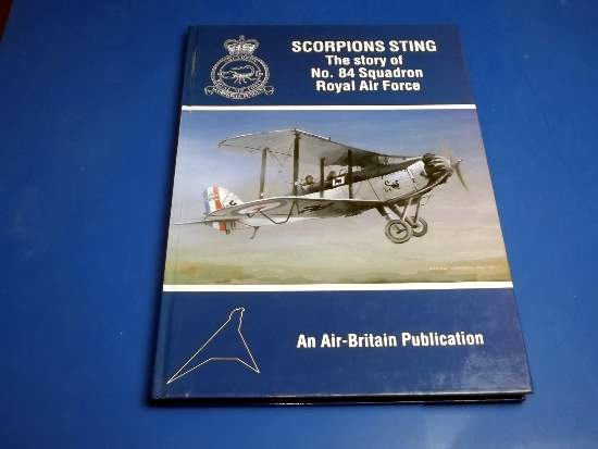 Air Britain   Scorpions Sting - The Story of No84 Sqn RAF Date: 1994