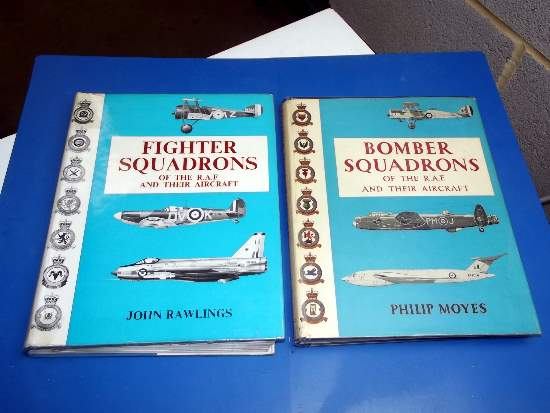 Books   Fighter & Bomber Squadrons of the RAF Date: 1960's