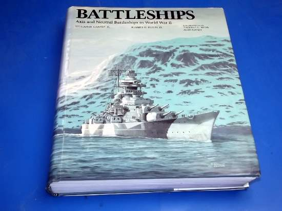 Books - - Battleships - Axis and Neutral Battlesips in WW2 - W Garrzke Date: 1990