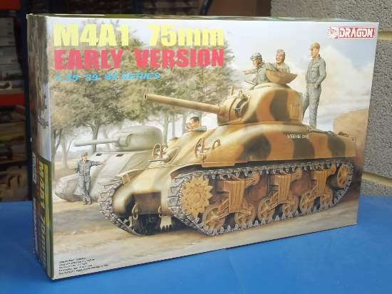 Dragon 1/35 6048 M4A1 75mm Sherman Early Version Date: 00's