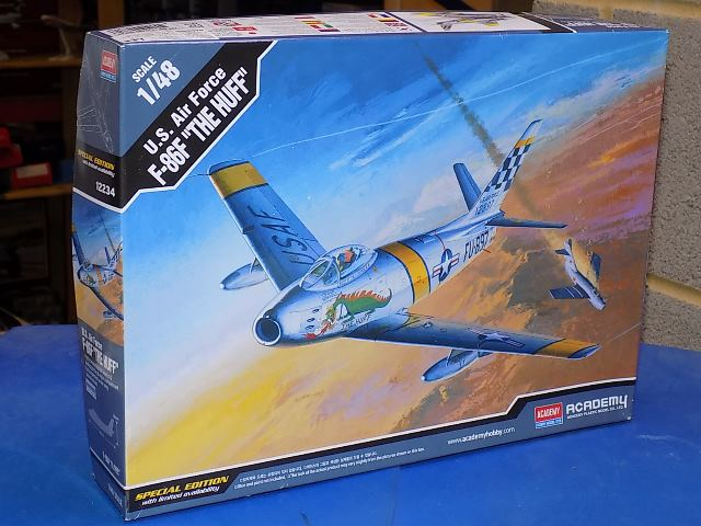 Academy 1/48 12234 F-86F Sabre 'The Huff' Date: 00's