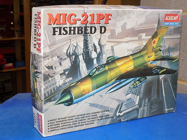 Academy 1/48 2166 Mig-21PF Fishbed D Date: 00's