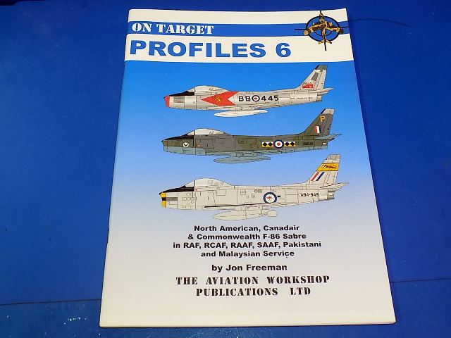 Books - - On Target Profile 6 - F-86 Sabre Date: 00's