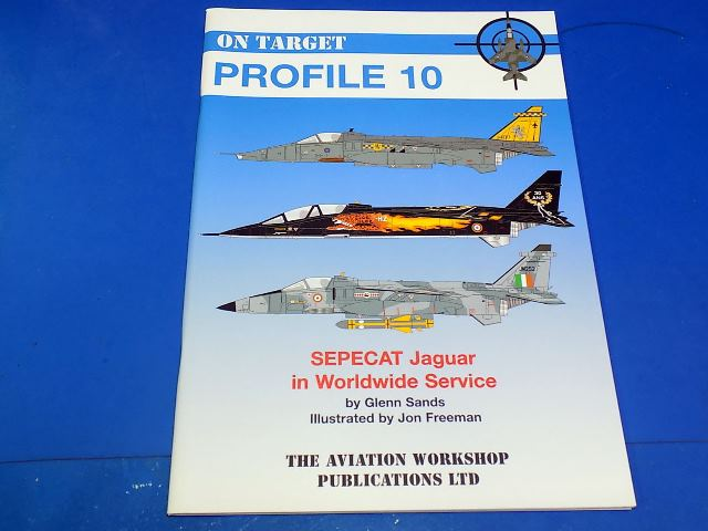 Books - - On Target Profile 10 - Sepecat Jaguar in Worldwide Service Date: 00's