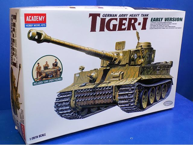 Academy 1/35 1386 Tiger 1 Tank - Early Version Date: 00's