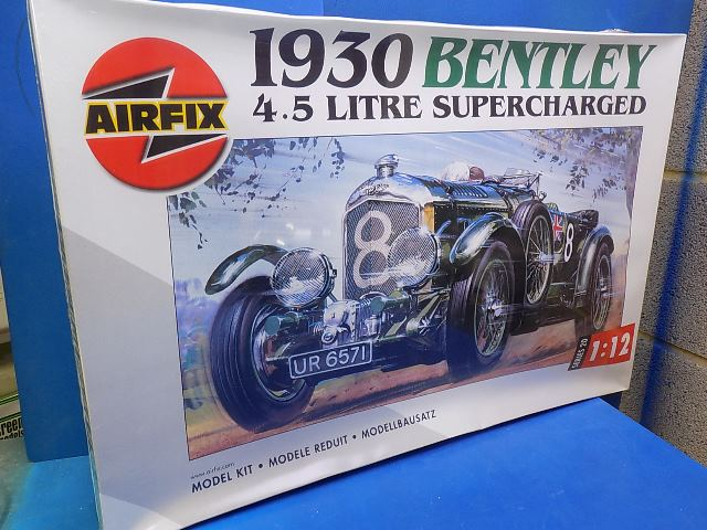 Airfix 1/12 20440 1930 Bentley 4.5 Litre Date: 00's