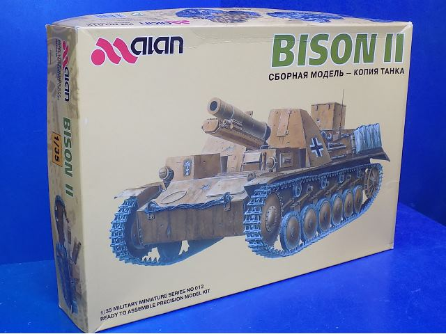 Alan Hobbies 1/35 - Bison II Date: 00's