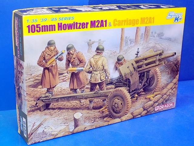 Dragon 1/35 6499 105mm Howitzer M2A1 & Carriage w/ Crew Date: 00's