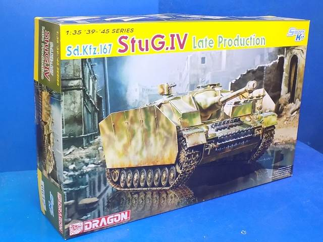 Dragon 1/35 6612 Sd.Kfz.167 Stug.IV Late Production Date: 00's