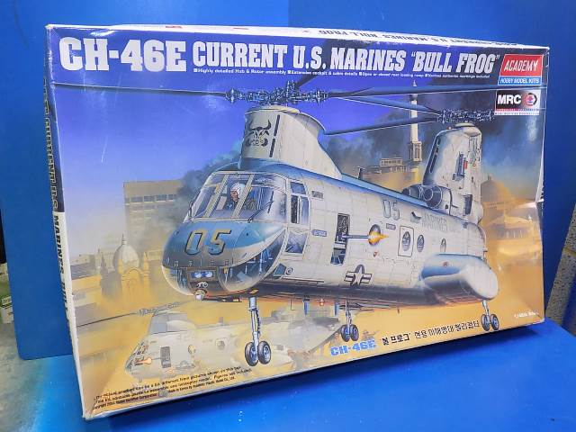 Academy 1/48 2226 CH-46E US Marines 'Bull Frog' Date: 00's