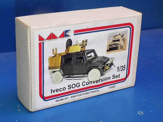 MMK 1/35 F3056 Iveco SOG Conversion Set - Resin / Etch Date: 00's