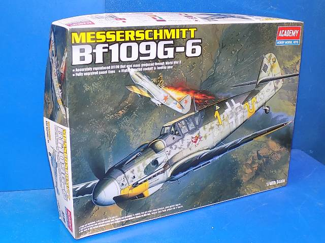 Academy 1/48 2146 Me Bf109G-6 Date: 00's