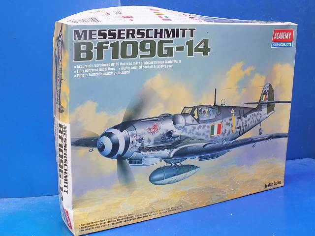 Academy 1/48 1682 Me Bf109G-14 Date: 00's