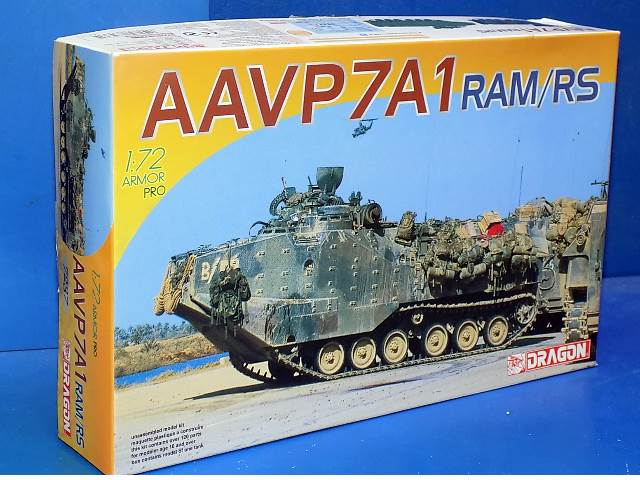 Dragon 1/72 7237 AAVP-7A1 RAM/RS Date: 00's