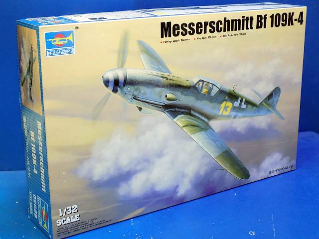 Trumpeter 1/32 02299 Me Bf109K-4 Date: 00's