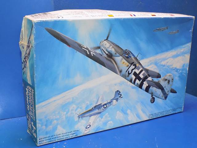 Fujimi 1/48 48003 Me Bf109G-14/AS Peterle Date: 90's