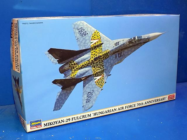 Hasegawa 1/72 02062 Mig-29 Fulcrum 'Hungarian AF 70th Anniversary' Date: 00's