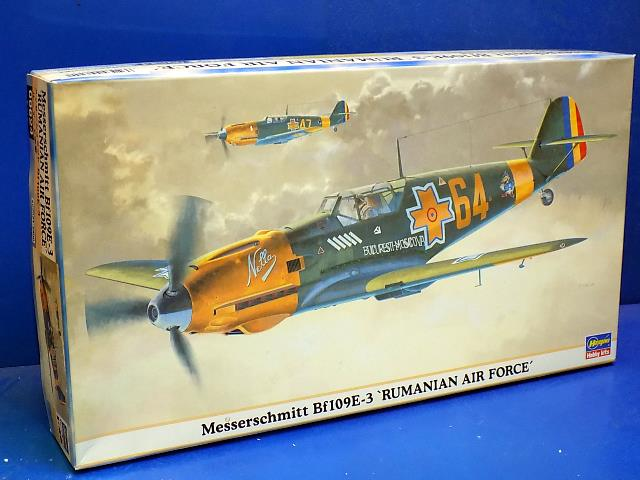 Hasegawa 1/48 09624 Me Bf109E-3 'Rumanian Air Force' Date: 00's