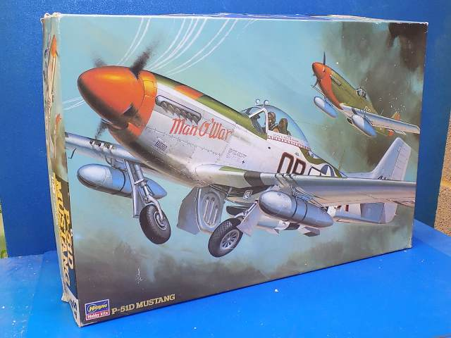 Hasegawa 1/32 ST5 P-51D Mustang (NO DECALS) Date: 00's
